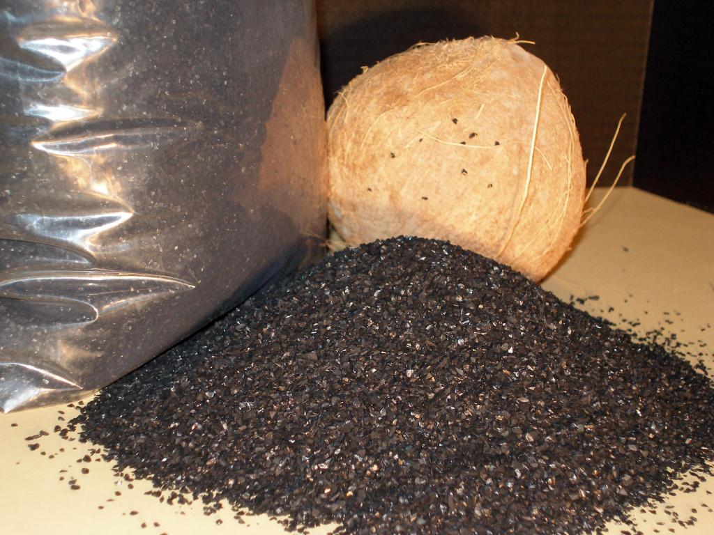 Activated Coconut Shell Carbon - 1 cu. ft.