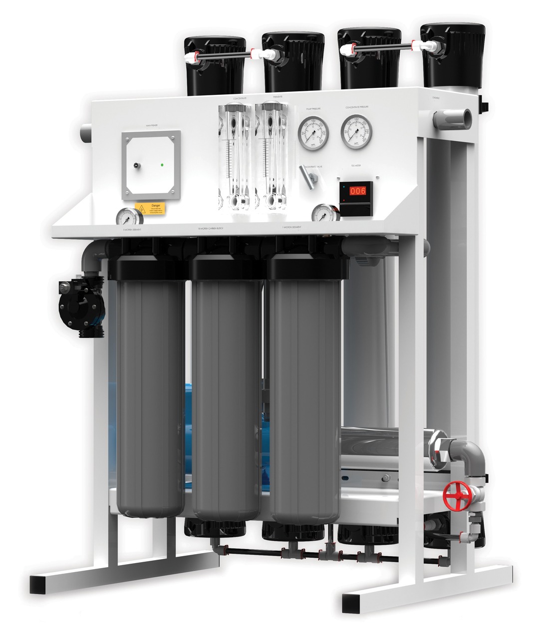 FLEXEON CT-7000A REVERSE OSMOSIS SYSTEM