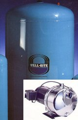 JPT-83 Pressure Tank and 1 HP Stainless Jet Pump